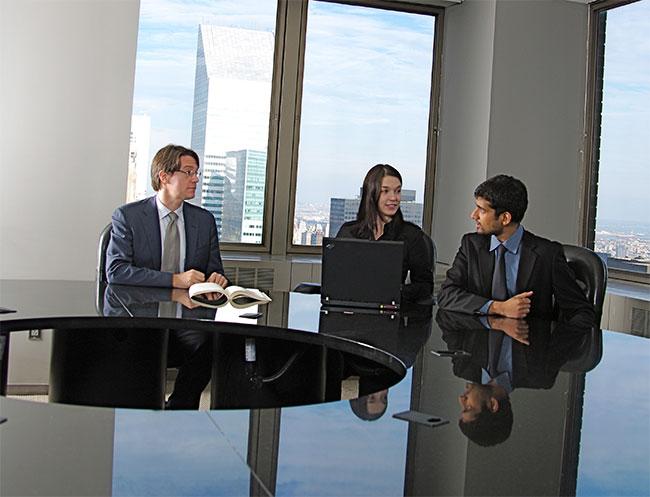 Legal Team Having Meeting