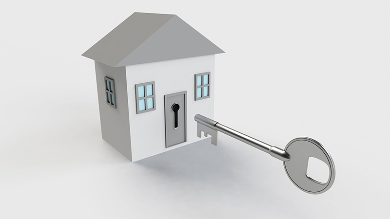 House with Key