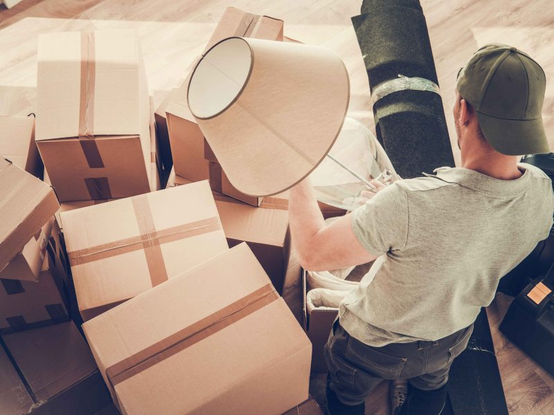 Divorced Man Moving Out